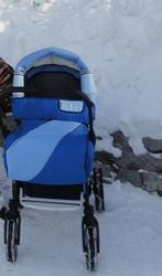 Детская коляска трансформер RIKO для мальчика