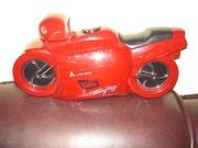 Продам дешево новый аудиомагнитофон в виде мотоцикла