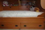 Кровать двухъярусная,  детская,  с морской тематикой