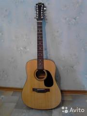 продам 12 струнную акустическую гитару