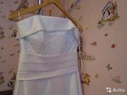 Элегантное свадебное платье